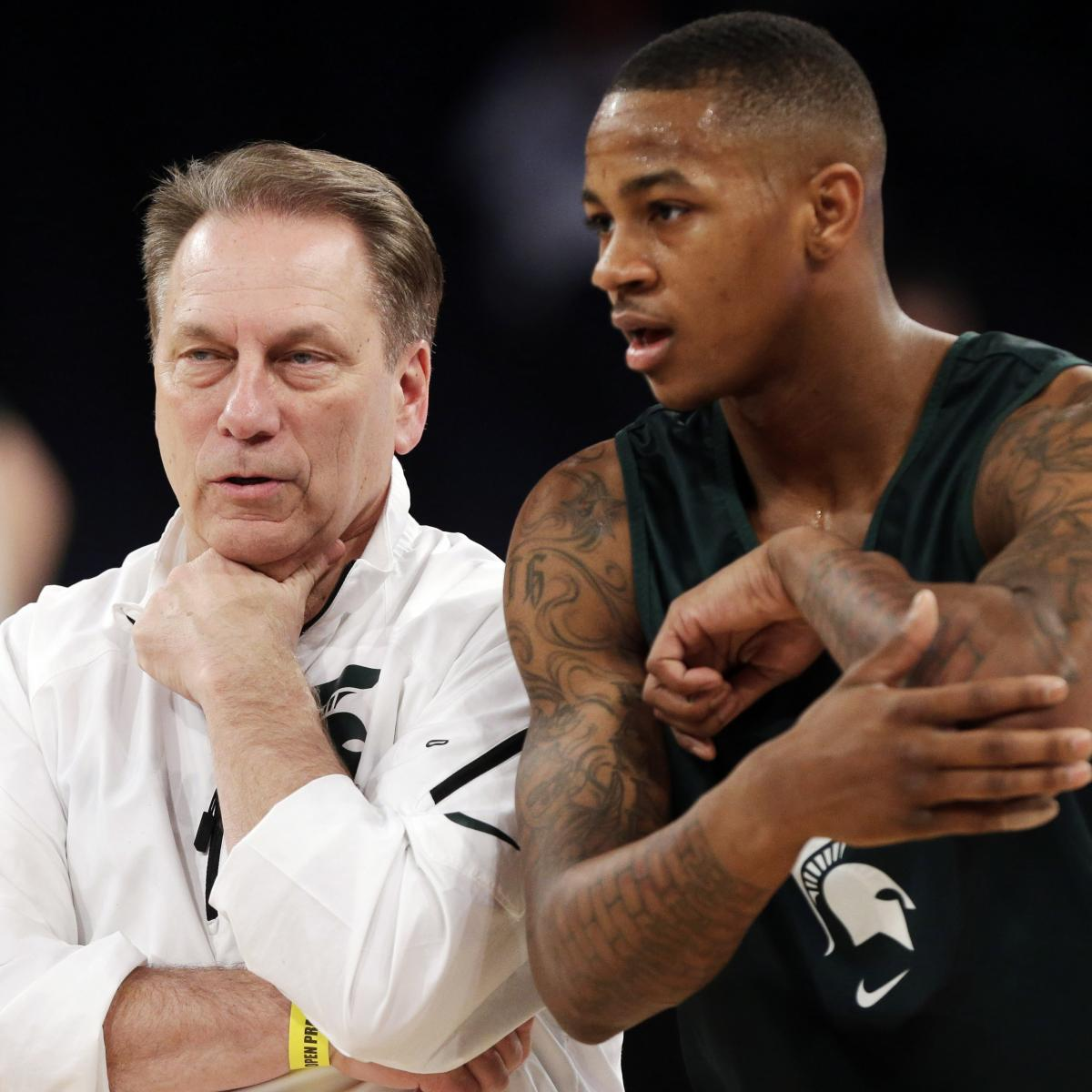 Ex-Michigan State PG Keith Appling Given 18 Months Probation After Heroin Arrest