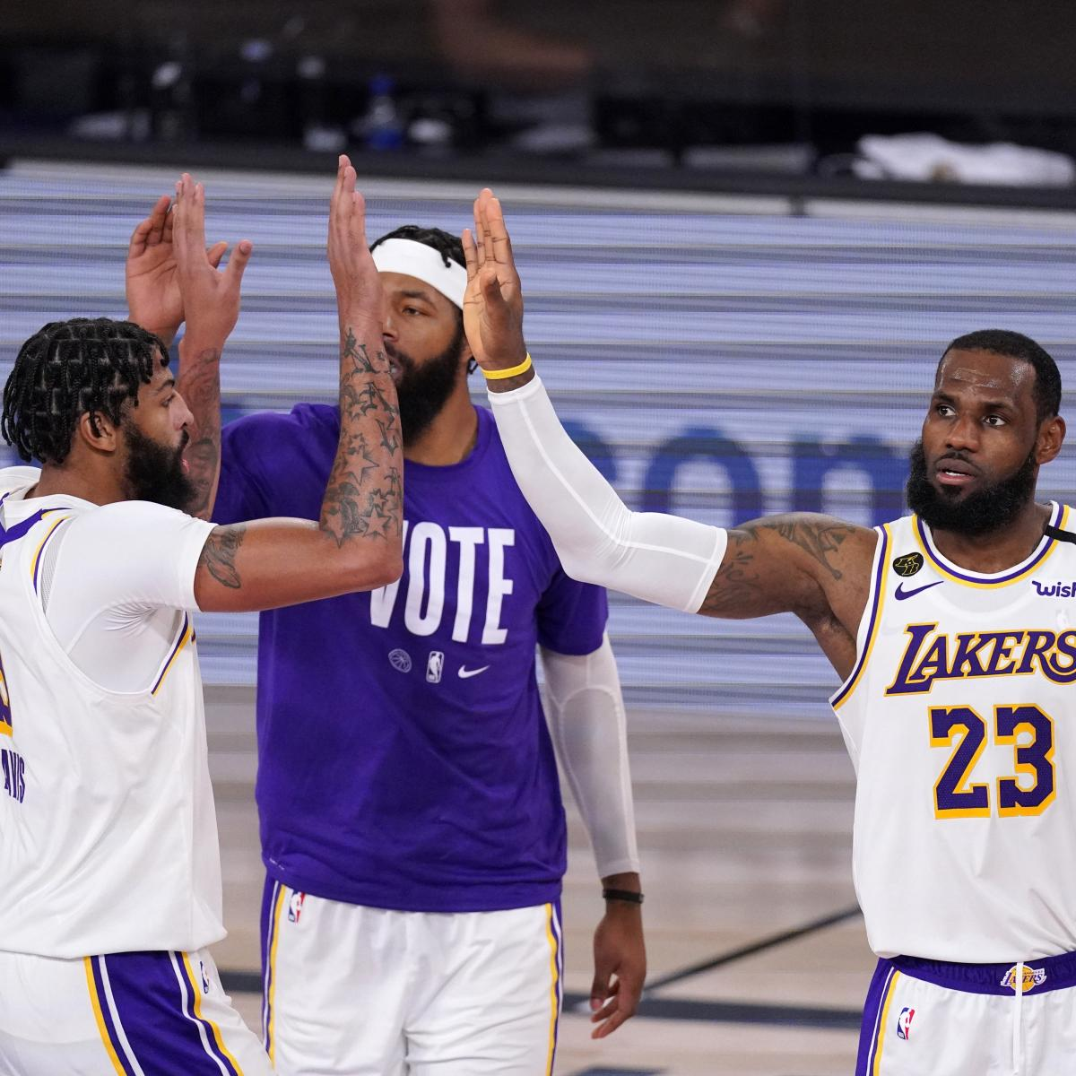 NBA Schedule 2020-21: Team-by-Team Record Predictions and Playoff Odds