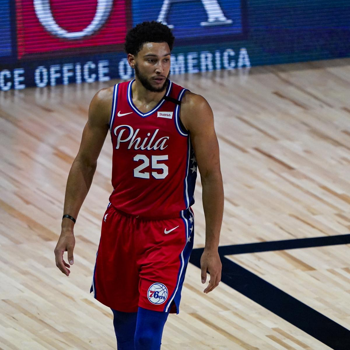 76ers' Ben Simmons Says Team Had Issues with Accountability Last Season