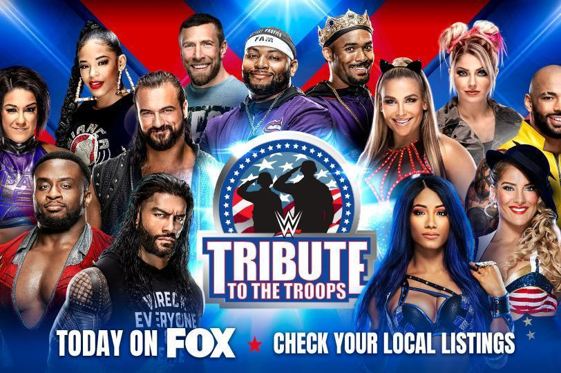 WWE Tribute to the Troops 2020: Winners, Grades, Reaction and Highlights - Bleacher Report