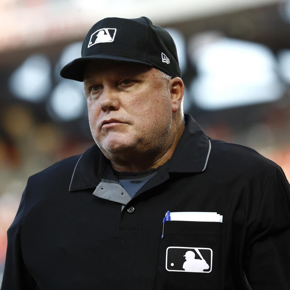 MLB Umpire Brian O'Nora Among 14 Arrested in Ohio Human Trafficking Sting