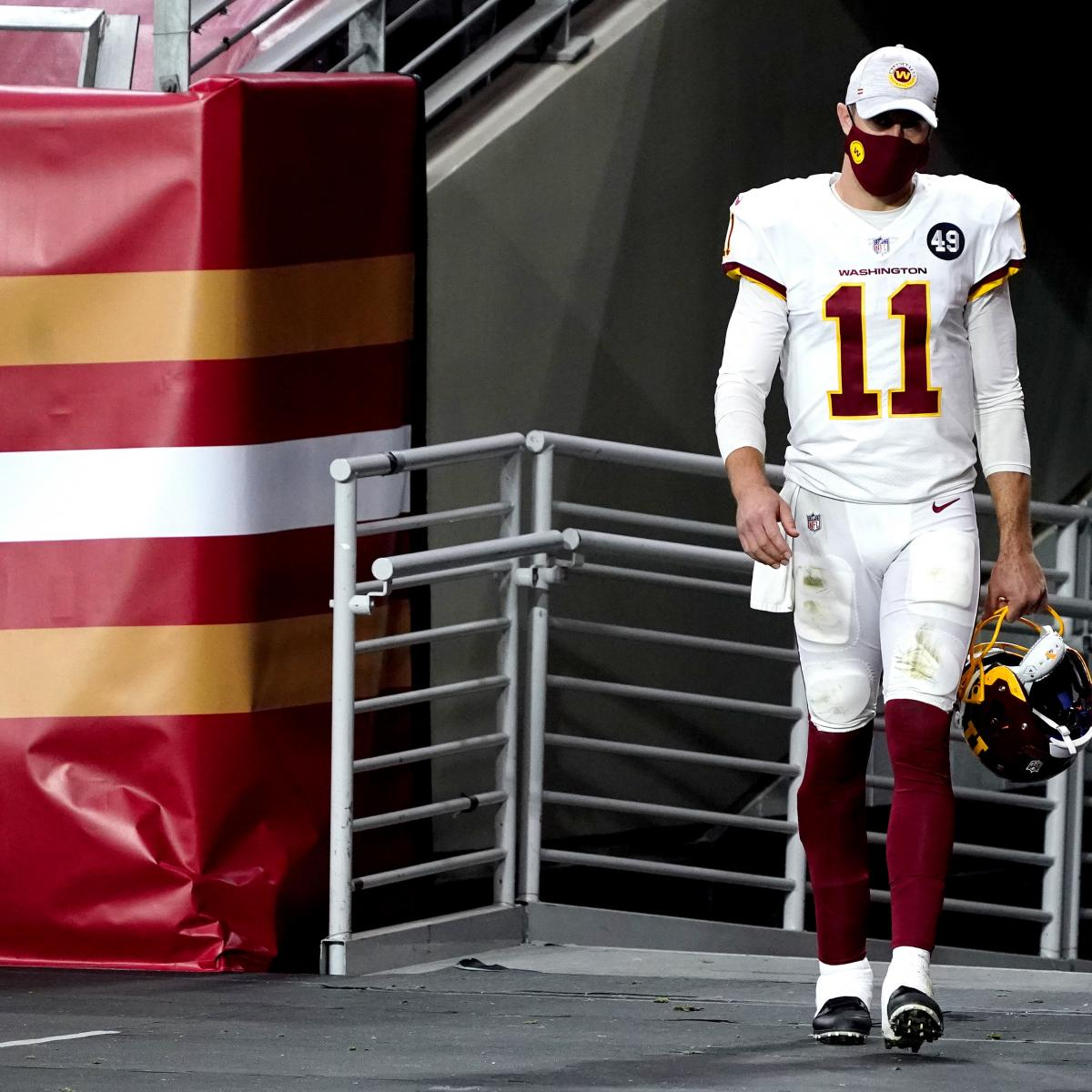 Alex Smith Underwent X-Rays on Calf Injury Suffered During WFT's Win vs. 49ers