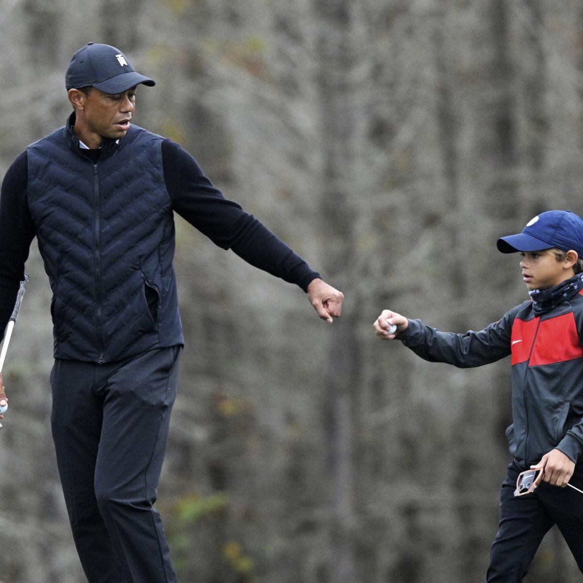 Video: Watch Tiger Woods' Son Charlie Make Impressive ...