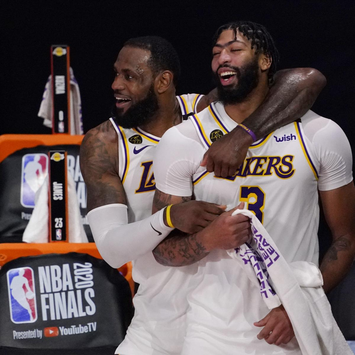 Lakers Championship 2020 Ring Ceremony Twitter Reaction and Highlights thumbnail
