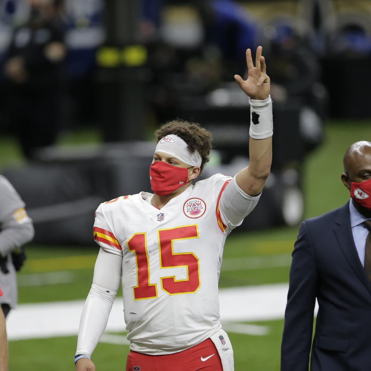 Patrick Mahomes Jokes About Christmas Video of Him Singing 'Rudolph' as a Child thumbnail