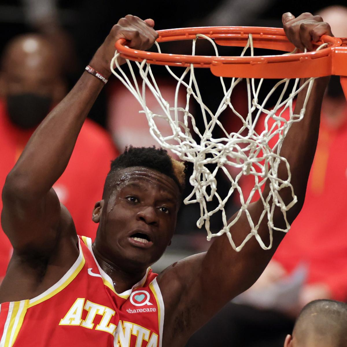 Clint Capela Will Not Play for Hawks vs. Grizzlies Because of Achilles Injury thumbnail