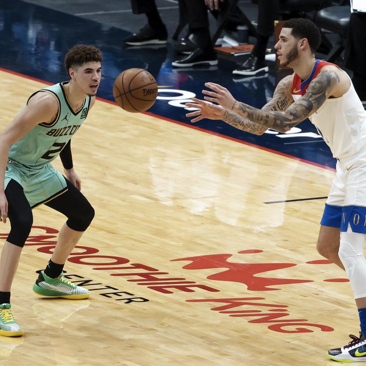 LaMelo Ball Flirts with Triple-Double as Hornets Top Lonzo Ball, Pelicans thumbnail