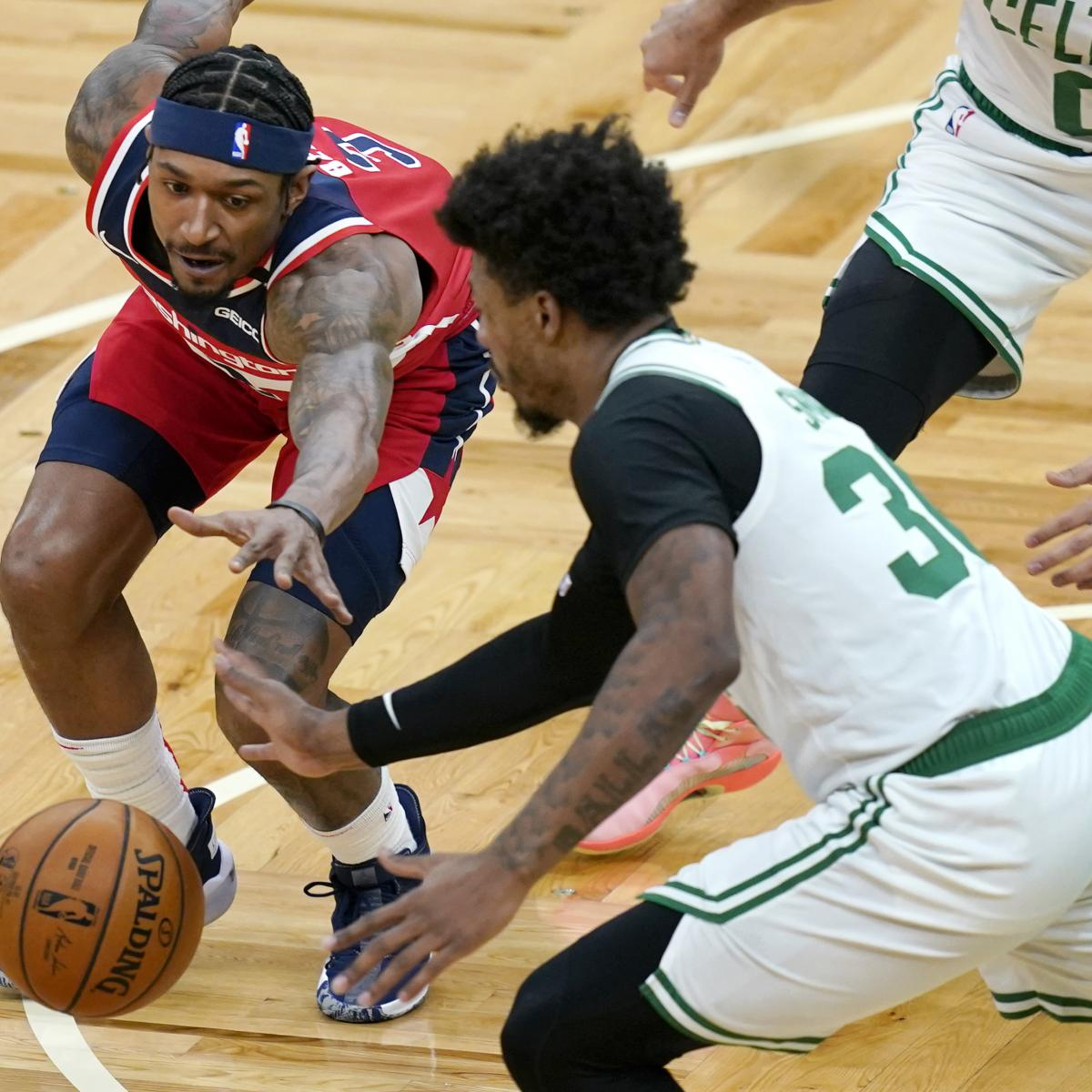 Bradley Beal Says Wizards'Can't Guard a Parked Car' After Loss to Celtics thumbnail