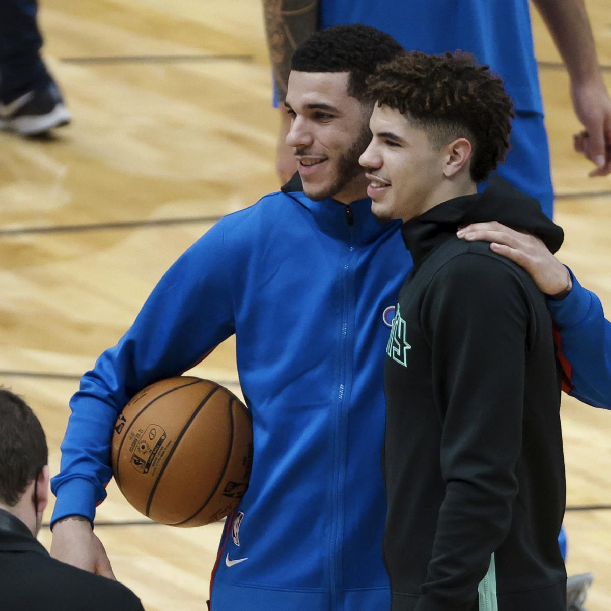 LaMelo Ball Says He Wasn't Fazed Playing Brother Lonzo on National TV thumbnail
