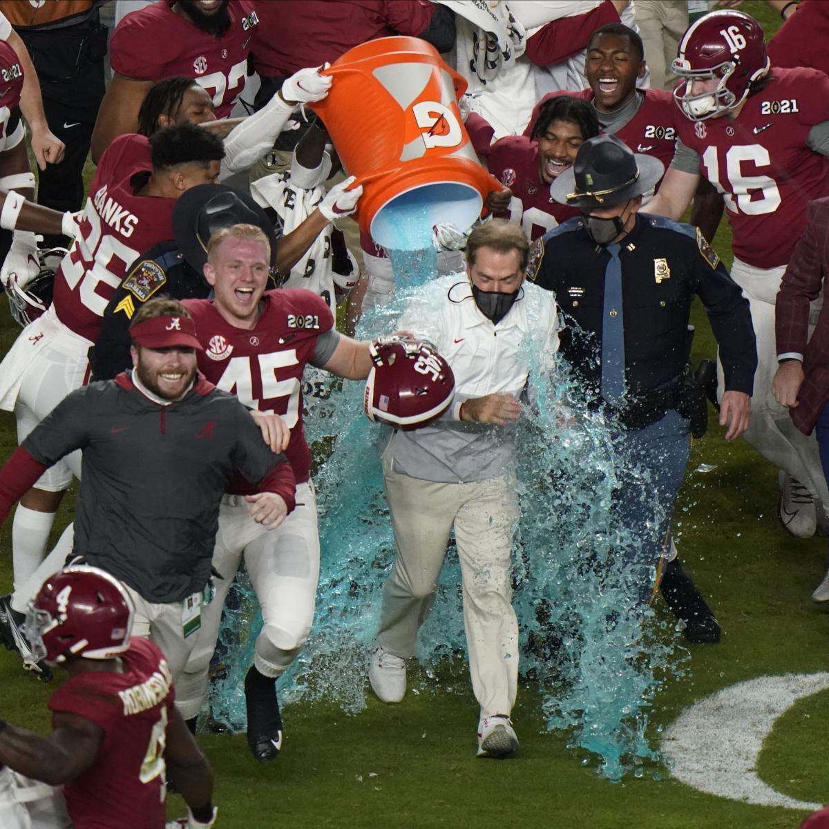 Alabama Wins 2021 CFP Championship: Celebration Highlights and Twitter Reaction thumbnail