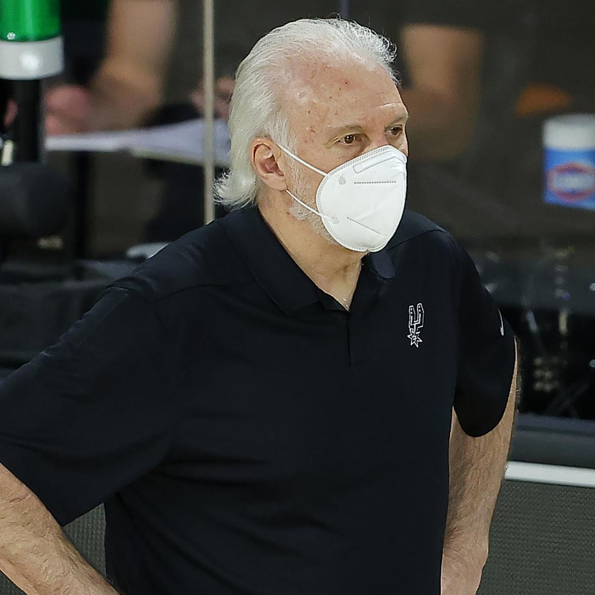 Spurs' Gregg Popovich Comments on Push to Impeach President Donald Trump
