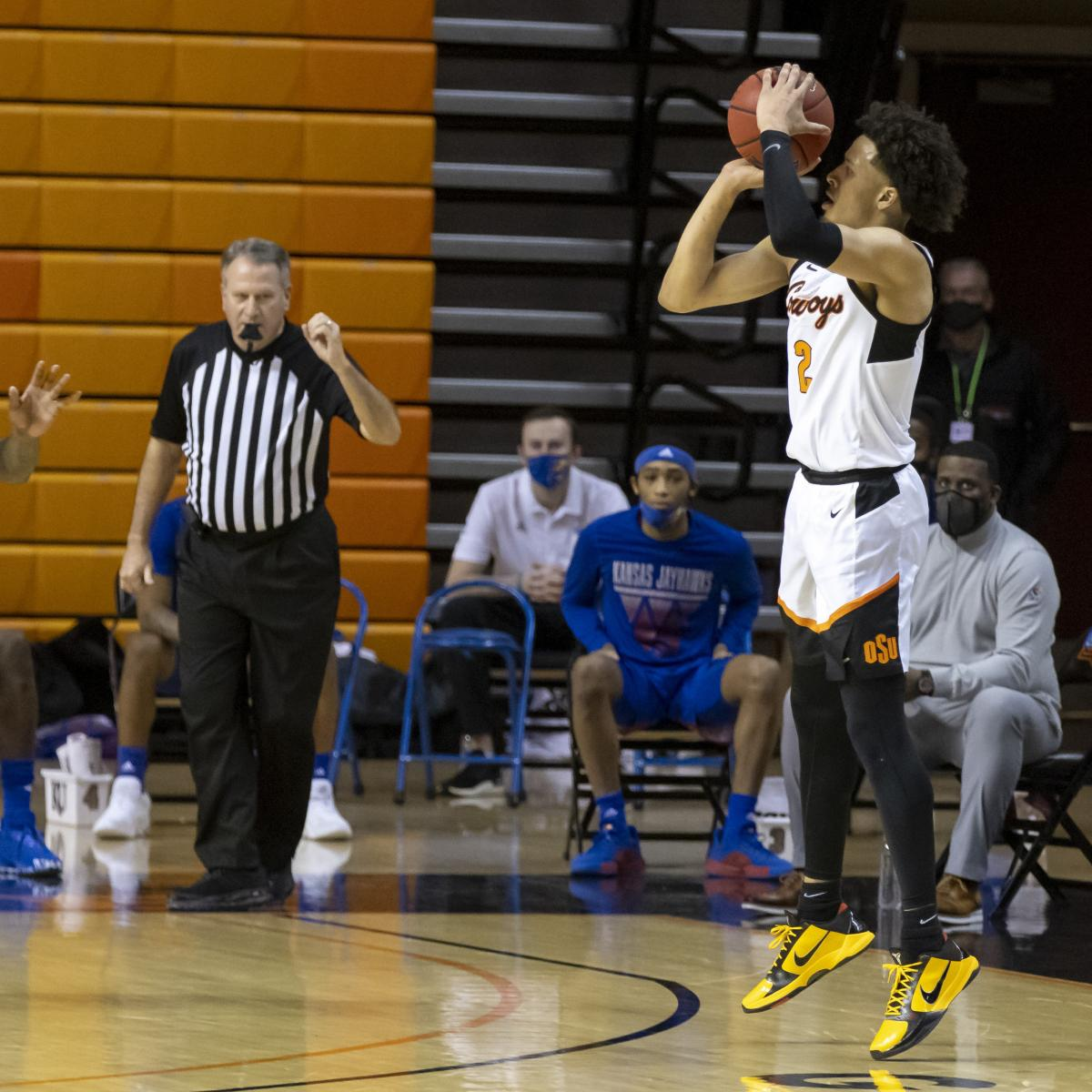 Cade Cunningham, Unranked Oklahoma State Upset No. 6 Kansas in Big 12 Action
