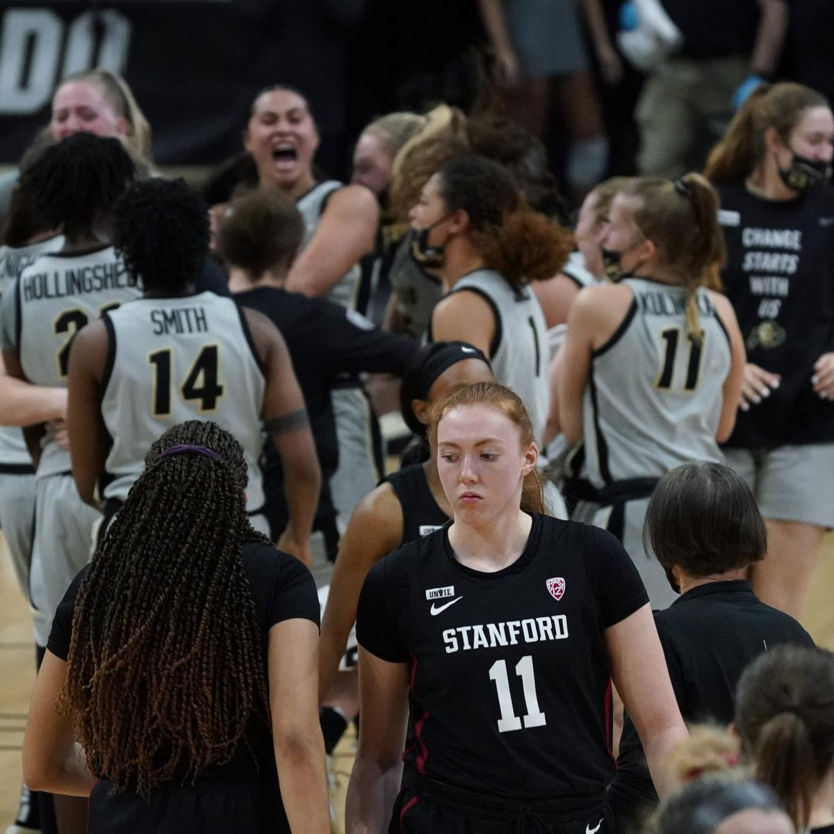 No. 1 Stanford Upset by Colorado; 1st Loss to Unranked Opponent Since Dec. 2019