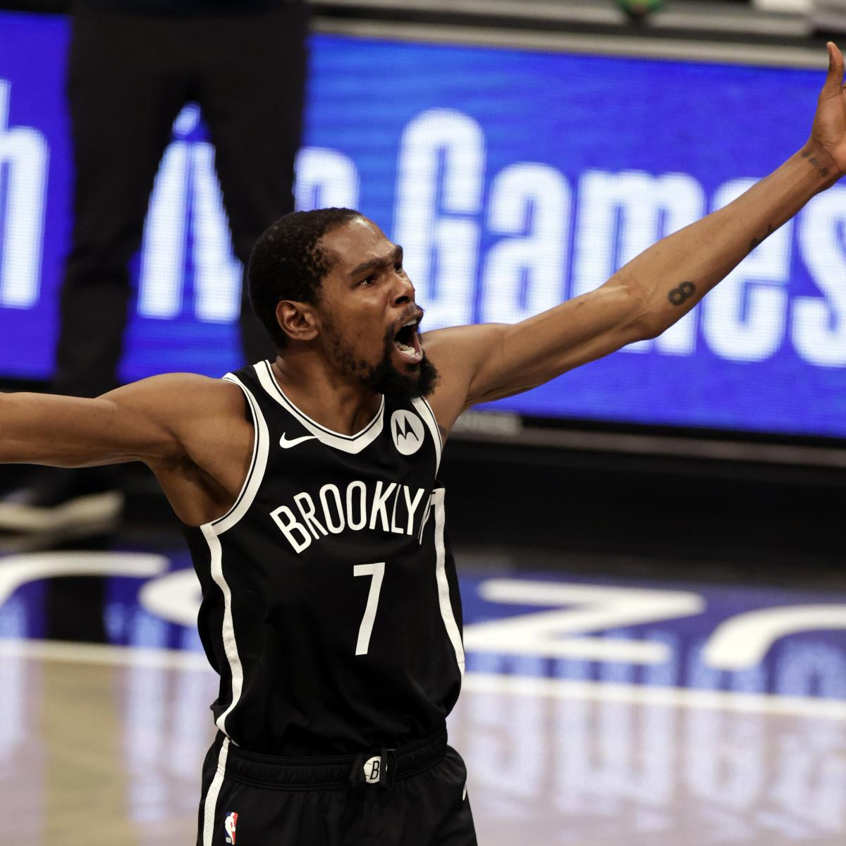 Kevin Durant's Clutch 3-Pointer Lifts James Harden, Nets Past Giannis, Bucks