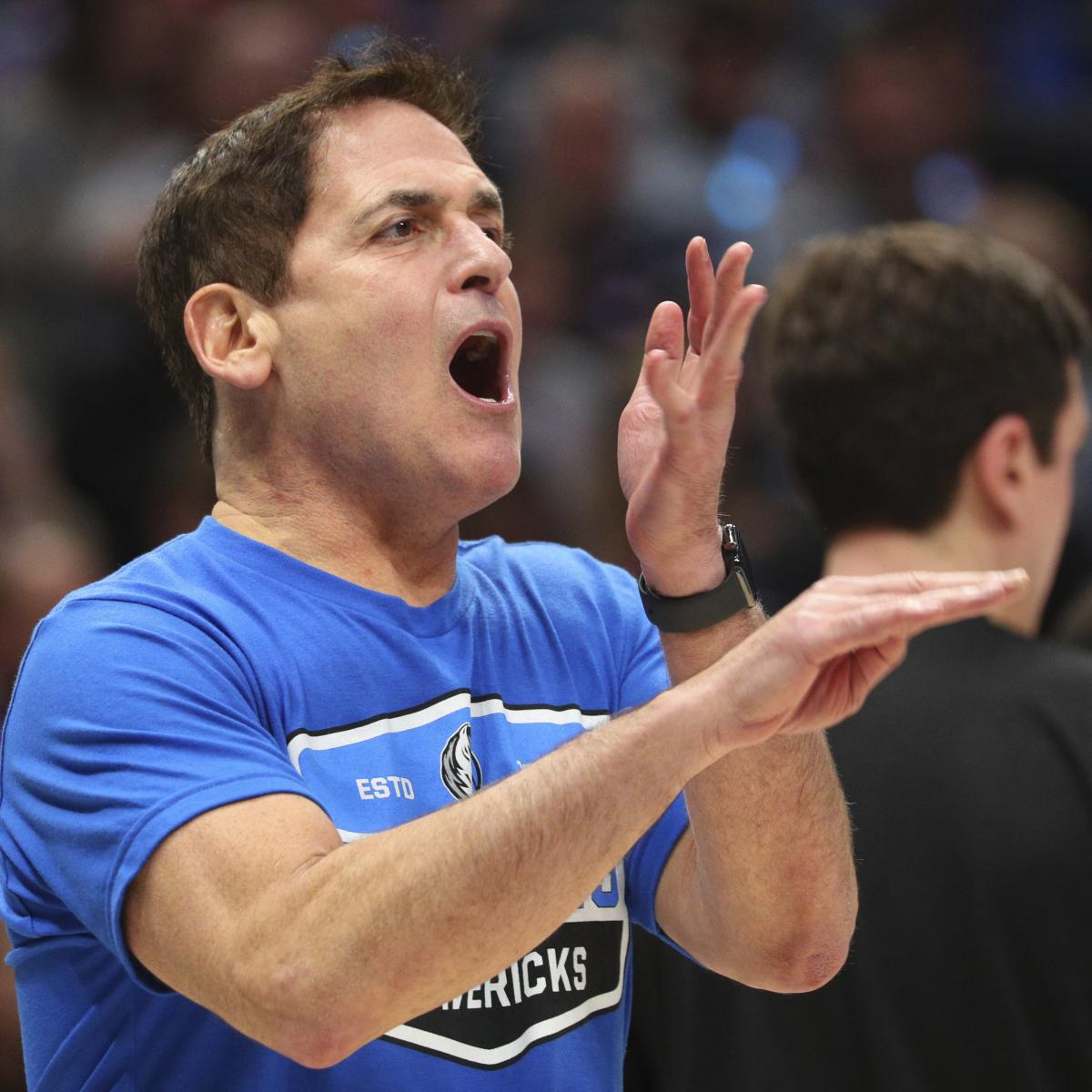 Mavs' Mark Cuban Wants to Play Preseason Games vs. Real Madrid, Overseas Teams thumbnail