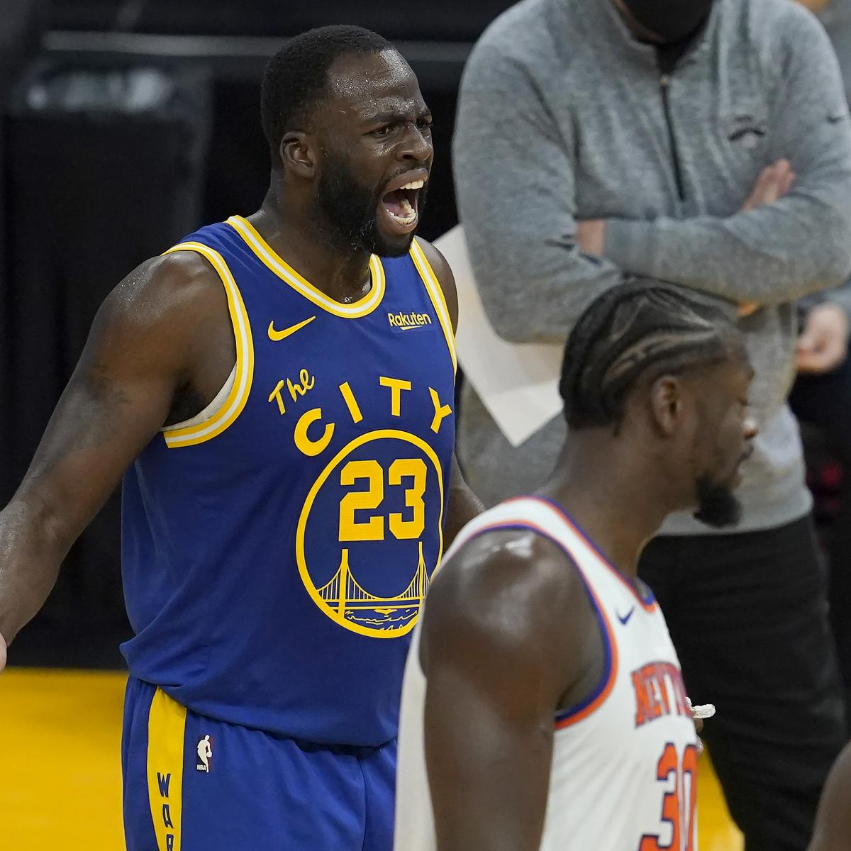 Video: Warriors' Draymond Green Ejected After Appearing to Yell at James Wiseman
