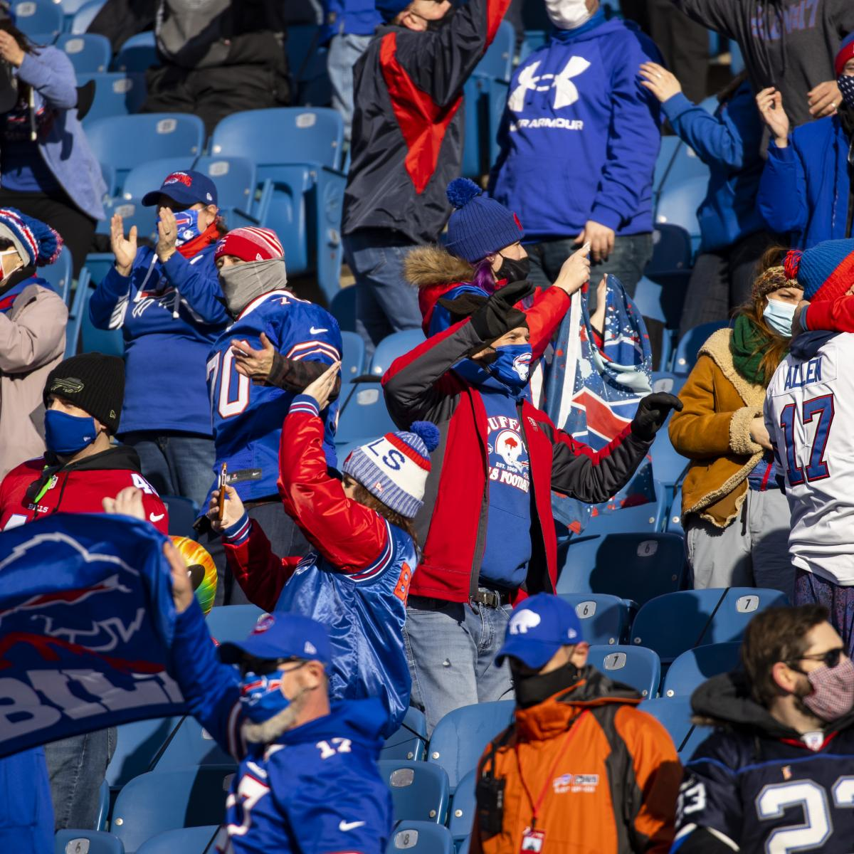 Video: Bills Fan Rings Bell, Smashes Table After Completing Cancer Treatment