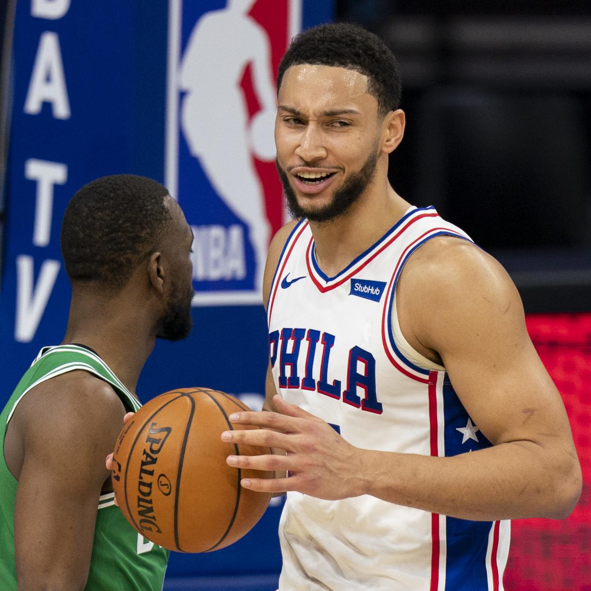 76ers' Ben Simmons: 'I Don't Give a F--k' About Criticism on Social Media