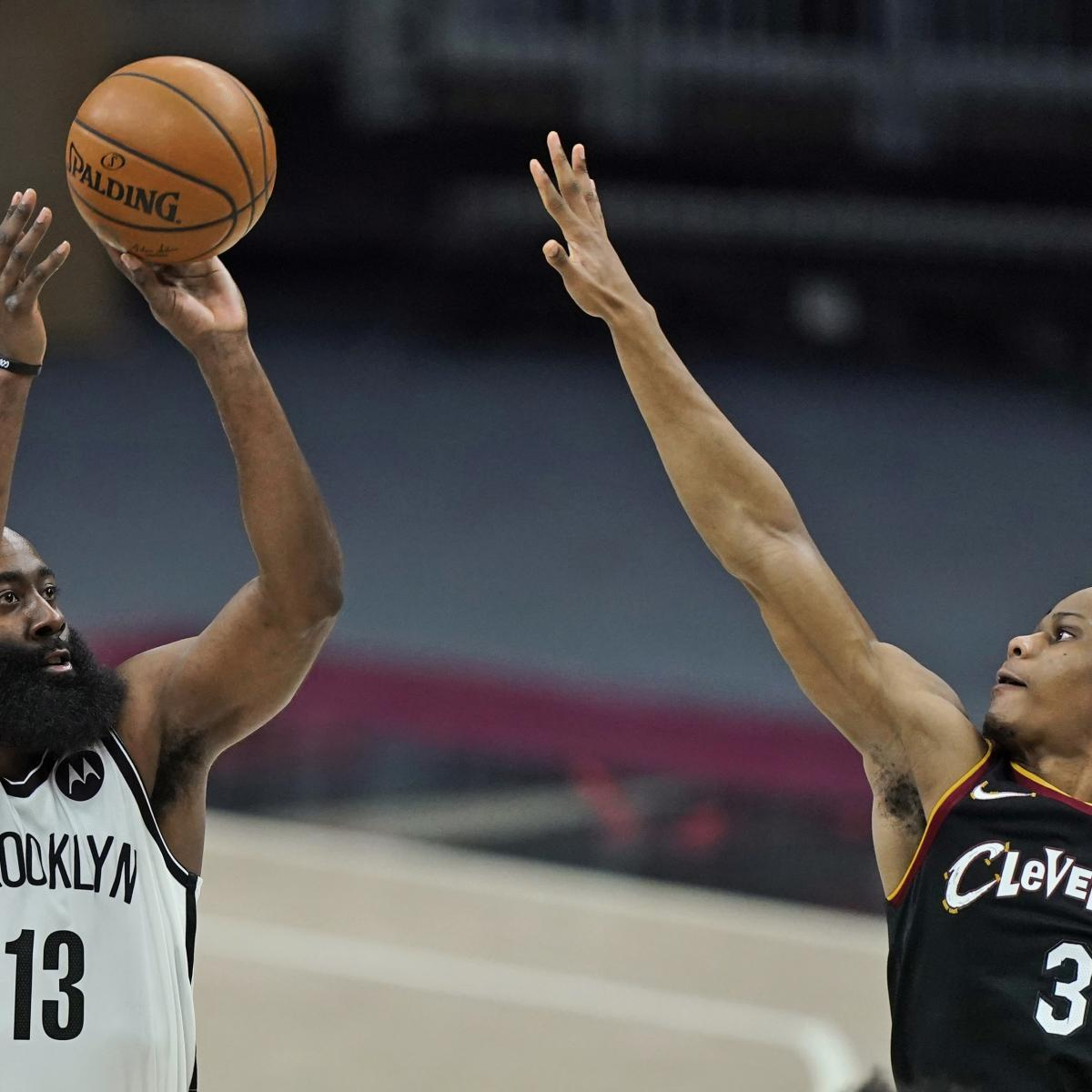 James Harden on Nets' Losses to Cavs: 'Defensively, We Have to Be More Engaged'