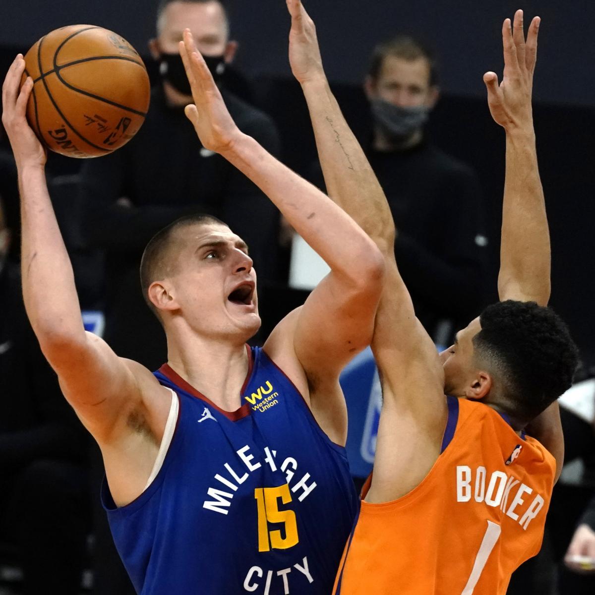 Nikola Jokic Drops 31 Points as Nuggets Outlast Devin Booker, Suns in OT