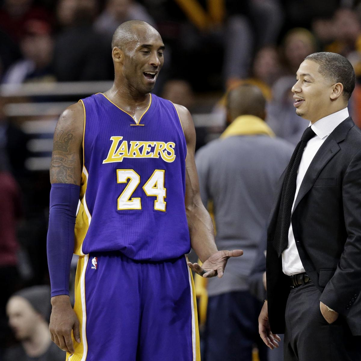 Clippers' Tyronn Lue Opens Up About Coping with Kobe Bryant's Death thumbnail