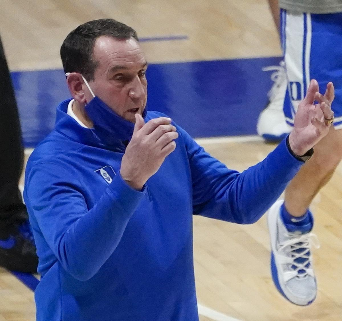 Duke's Mike Krzyzewski Takes Exception to Student Reporter's Question After Loss
