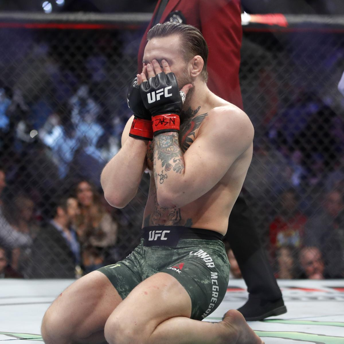 Conor McGregor Says Leg Is 'Completely Dead' After Injury vs. Poirier at UFC 257