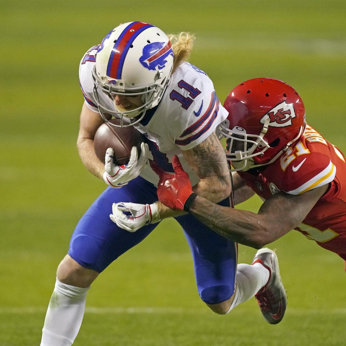 Bills' Cole Beasley Says He Has Broken Fibula, Played Through Injury