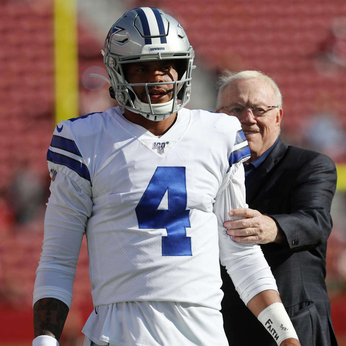 Don't Be Surprised If Dak Prescott and the Dallas Cowboys Part Ways