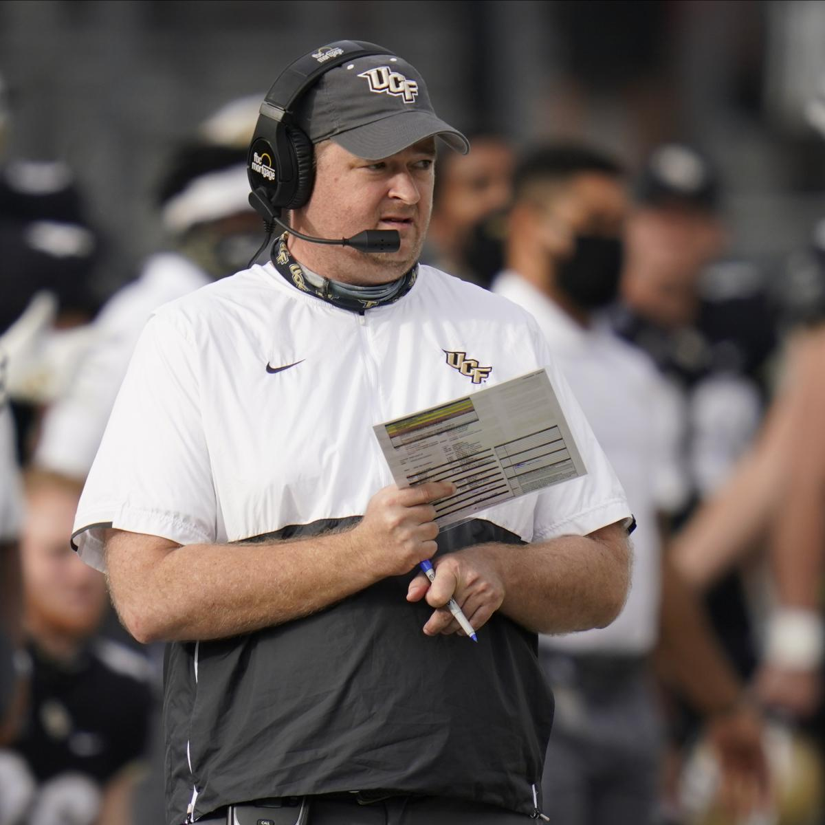 Report: Tennessee Hiring UCF's Josh Heupel as HC; Contract Details Unknown