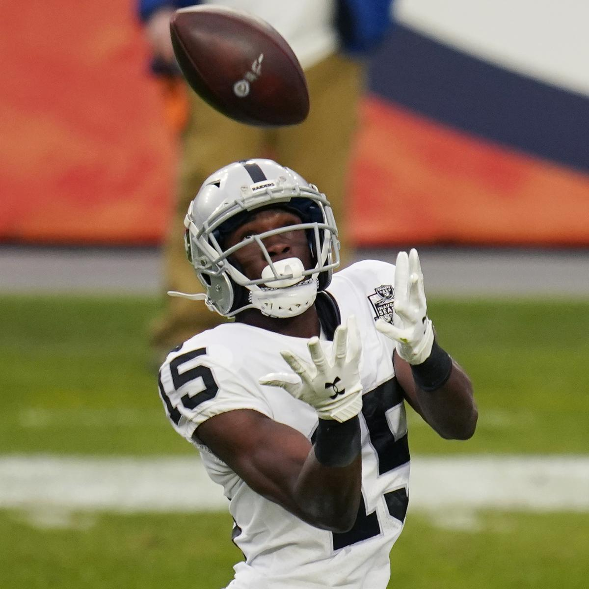 Report: Nelson Agholor Slammed Raiders in Locker Room Speech After Dolphins Loss