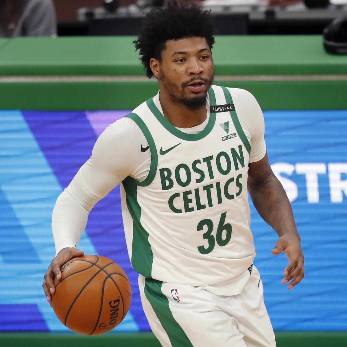 Celtics Rumors: Marcus Smart to 'Miss Some Time' with Grade 1 Calf Strain Injury thumbnail