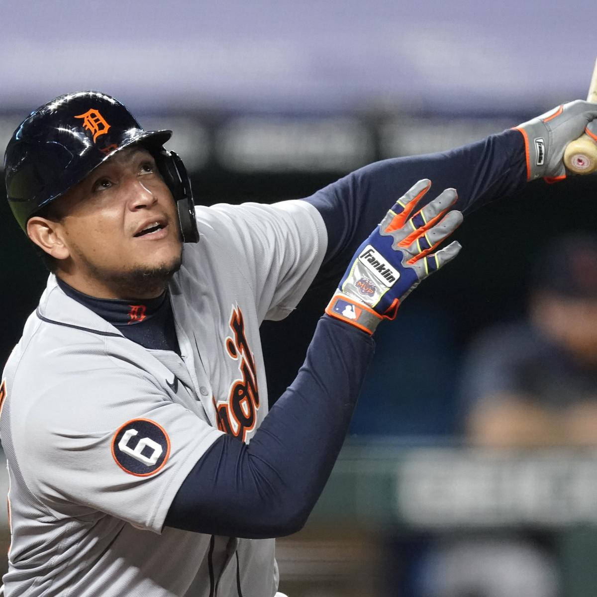Miguel Cabrera Placed on IL with Biceps Injury; Tigers Call Up Renato Nunez