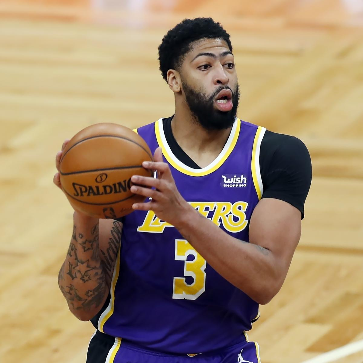 <p>Anthony Davis Drops 25 into Propel LeBron James, Lakers Past Trae Young, Hawks thumbnail
