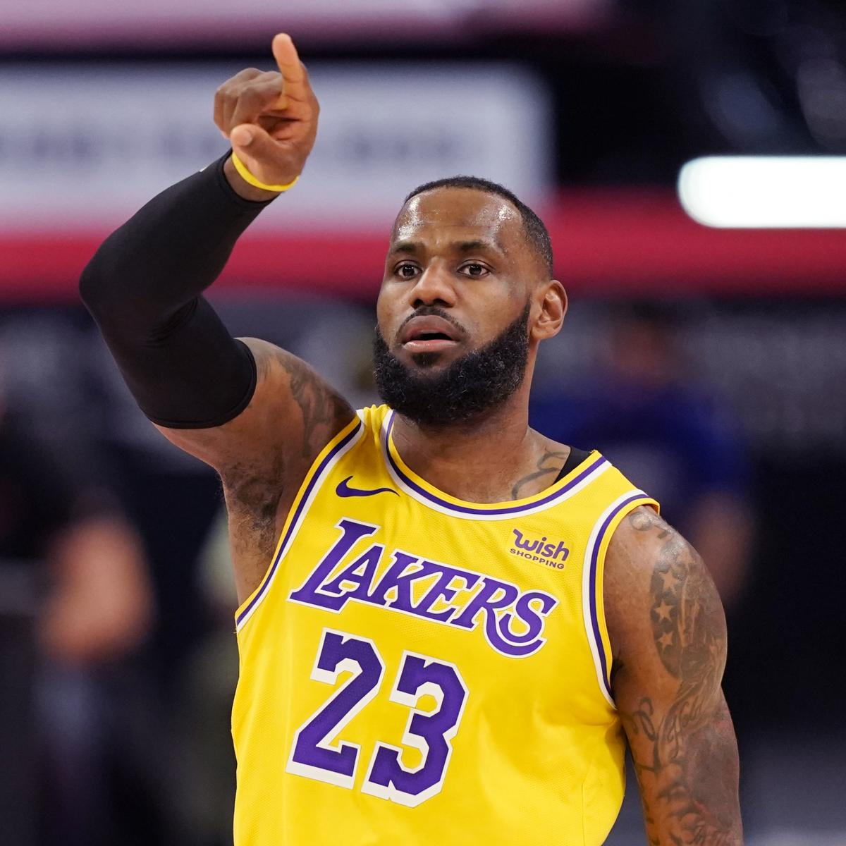 LeBron James Talks Exchange That Led to Fans' Ejections During Lakers vs. Hawks