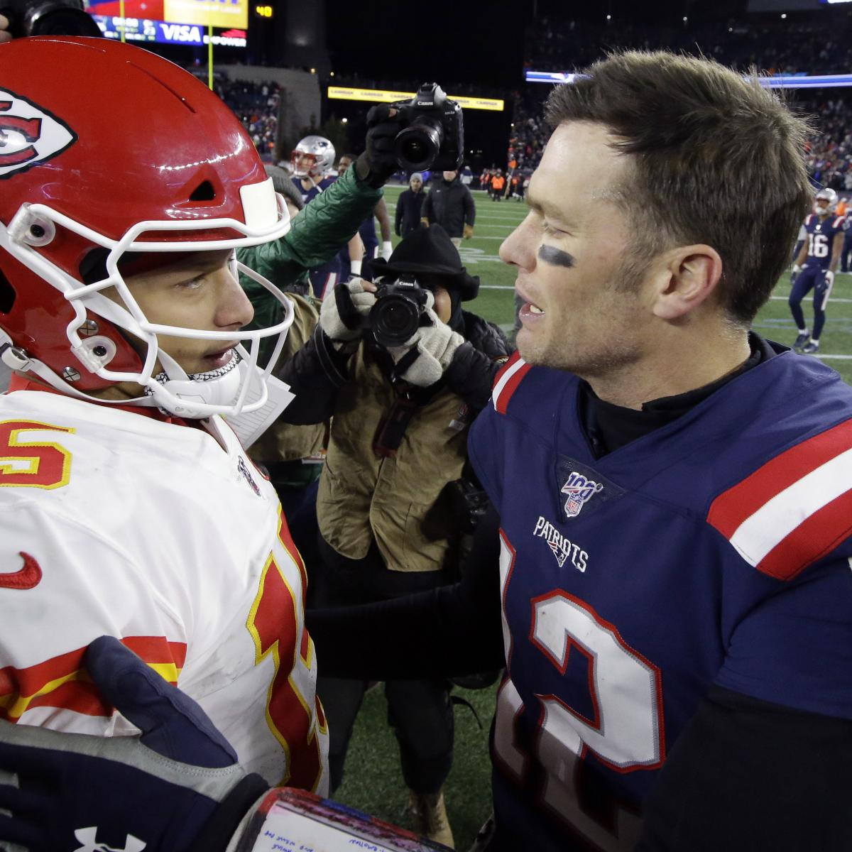 Patrick Mahomes: 2019 Tom Brady Visit Proved I Was'Doing Things the Right Way' thumbnail