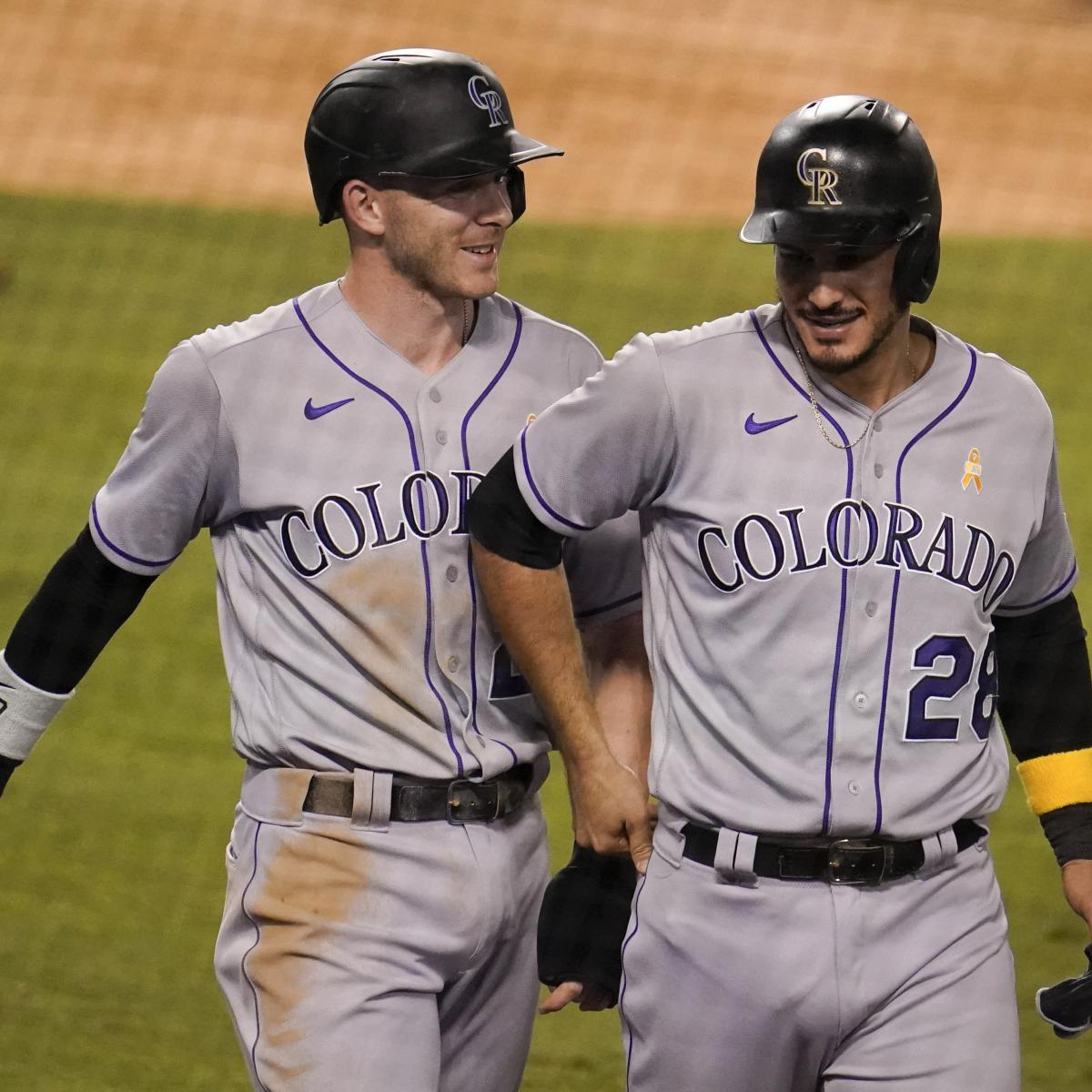 Trevor Story 'A Little Frustrated' by Rockies Trading Nolan Arenado to Cardinals