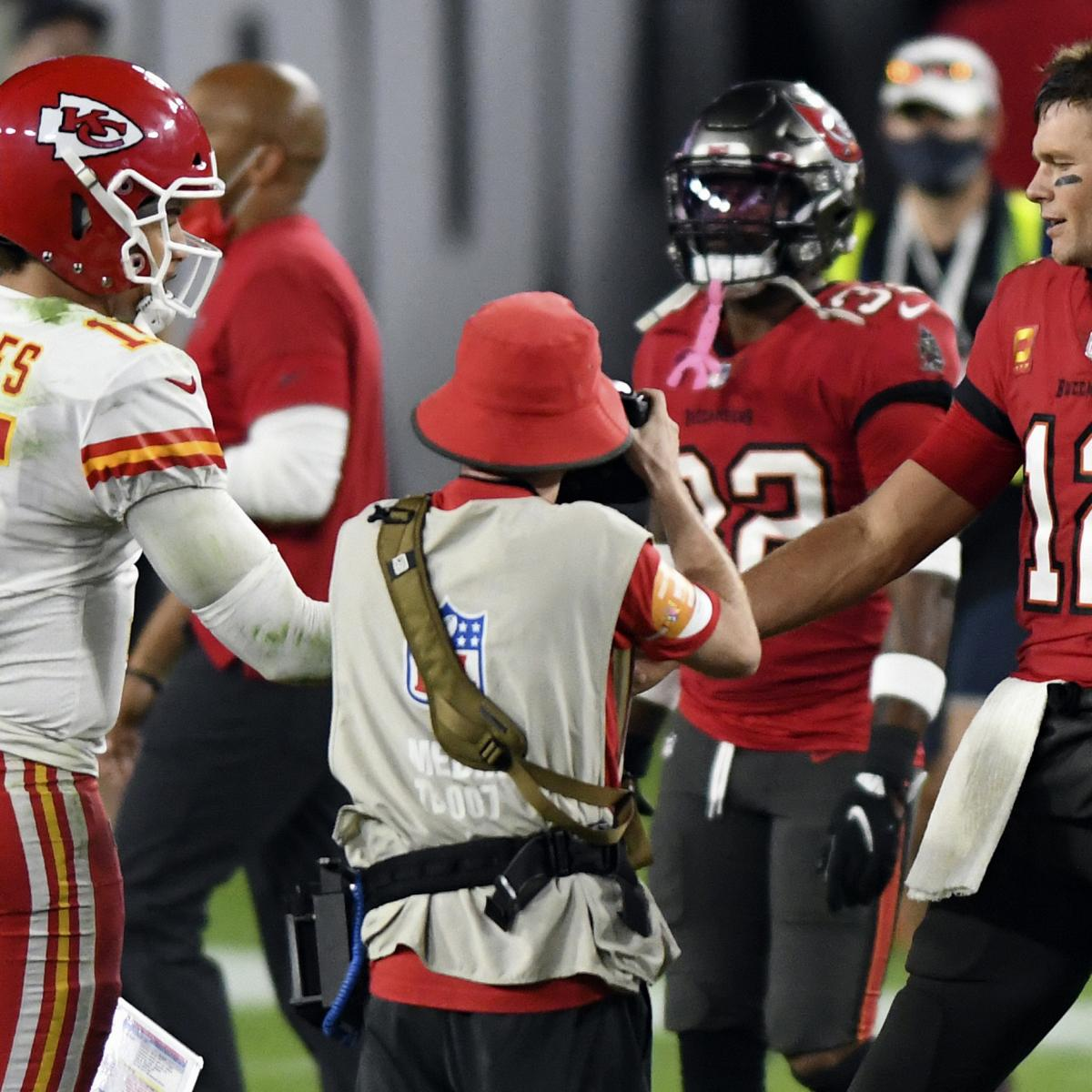 <p>Super Bowl 2021: Chiefs vs. Buccaneers Box Score and Stats Predictions thumbnail