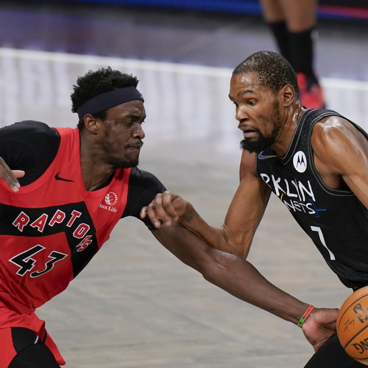 Kevin Durant Ruled Out for Nets vs. 76ers Due to Health and Safety Protocols thumbnail