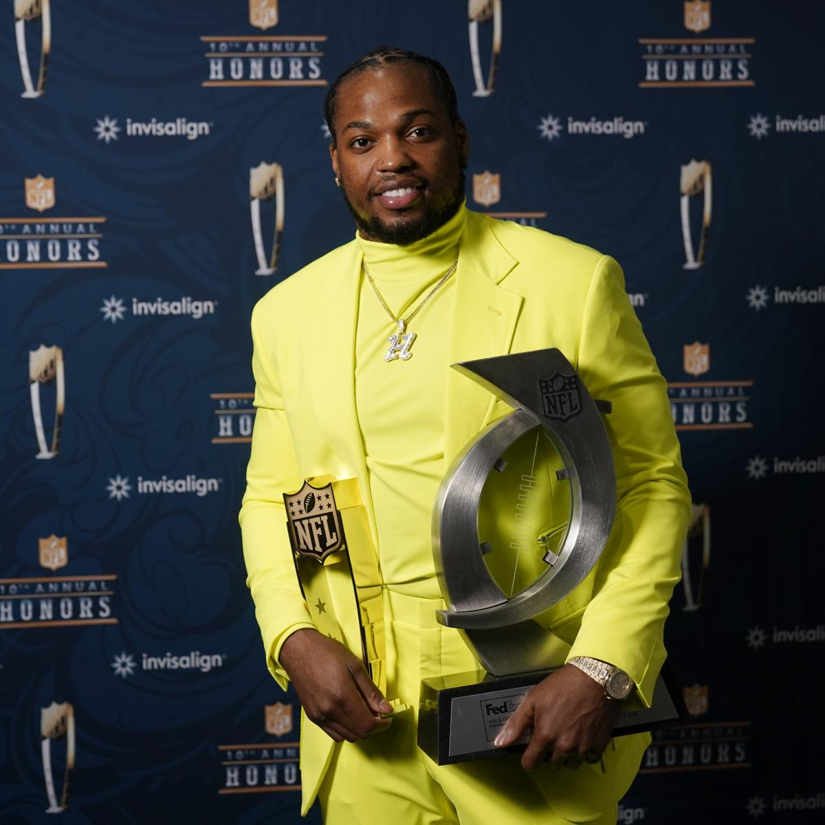 NFL Honors 2021: Award Winners, Voting Results and Twitter Reaction