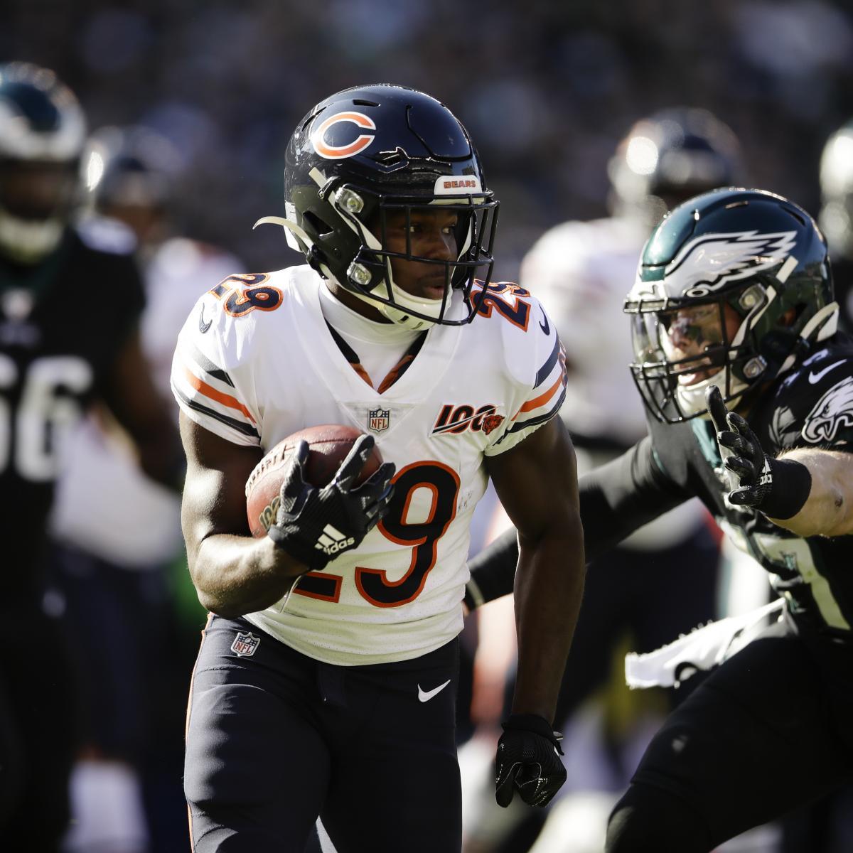 Tarik Cohen Says He's Staying with Bears Amid Carson Wentz Trade Rumors