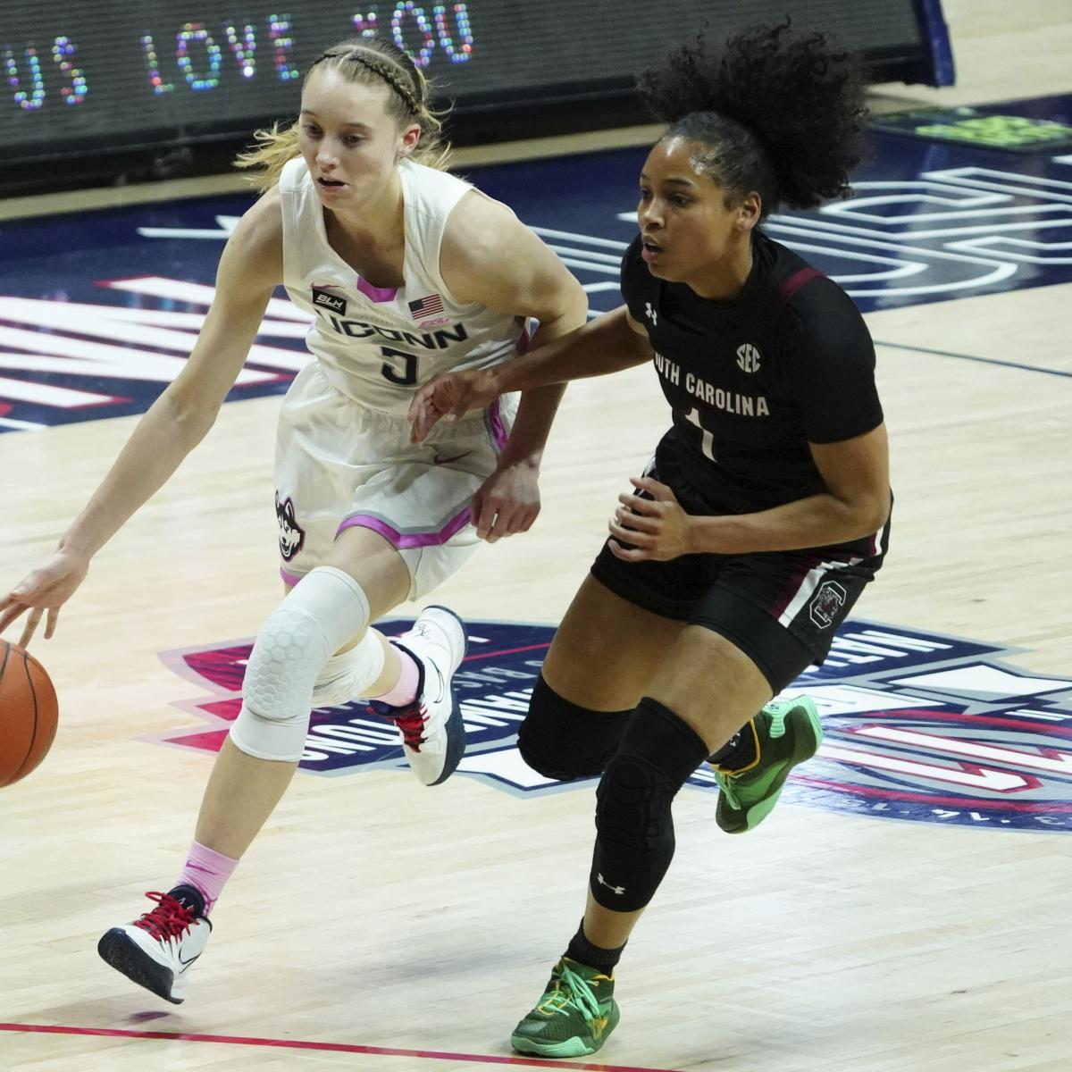 No. 2 UConn Beats No. 1 South Carolina in OT Thriller as Paige Bueckers Drops 31 – Bleacher Report
