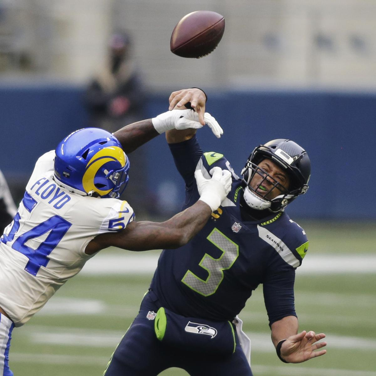 Seahawks' Russell Wilson Confirms He's 'Frustrated with Getting Hit Too Much' thumbnail