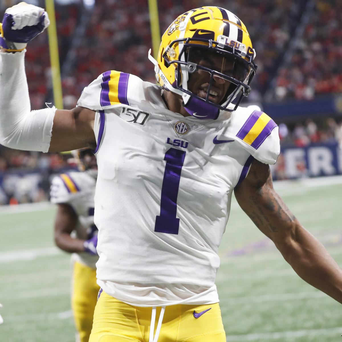 Todd McShay 2021 NFL Mock Draft: Ja'Marr Chase to Eagles, DeVonta Smith to Lions