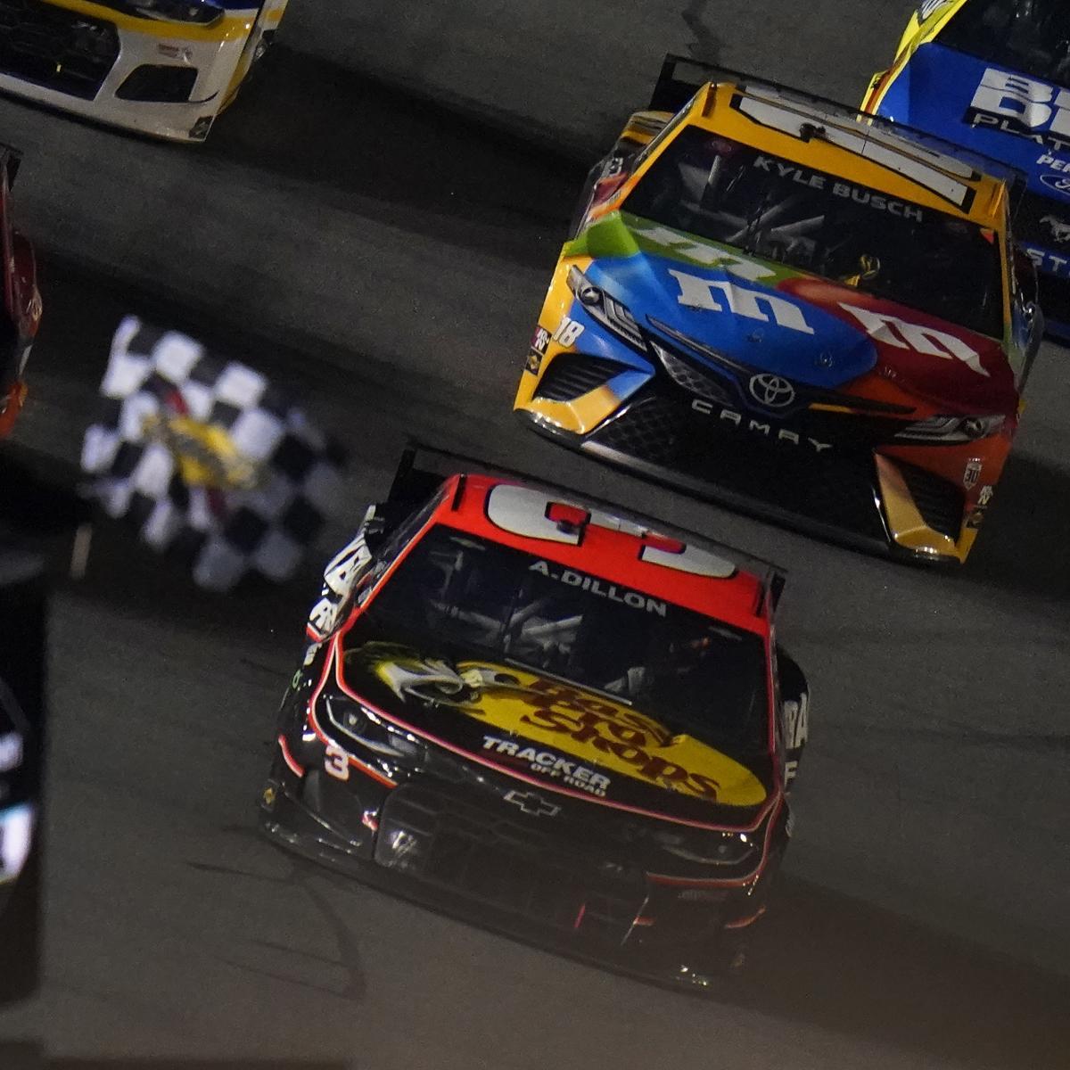 <p>NASCAR Duels 2021 Results: Aric Almirola, Austin Dillon Take Checkered Flags thumbnail