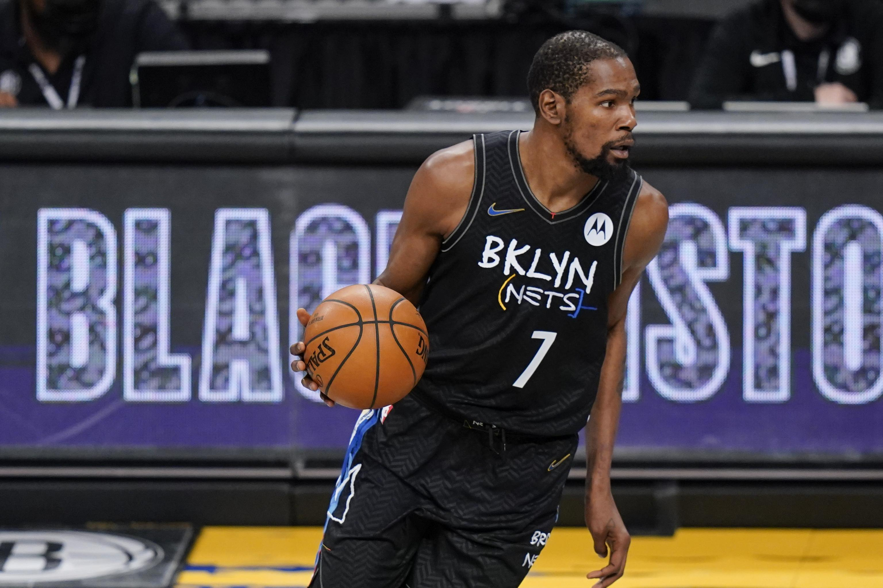 Eastern captain for the 2021 All-Star Starters, Kevin Durant