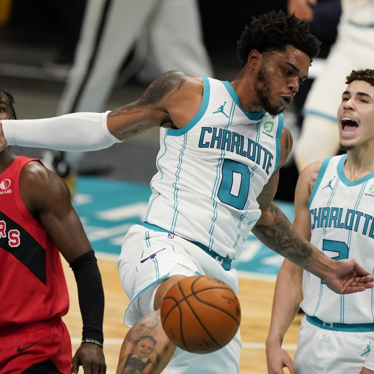 <p>LaMelo Ball Likes'AirBnB' Nickname for Connection with Hornets' Miles Bridges thumbnail