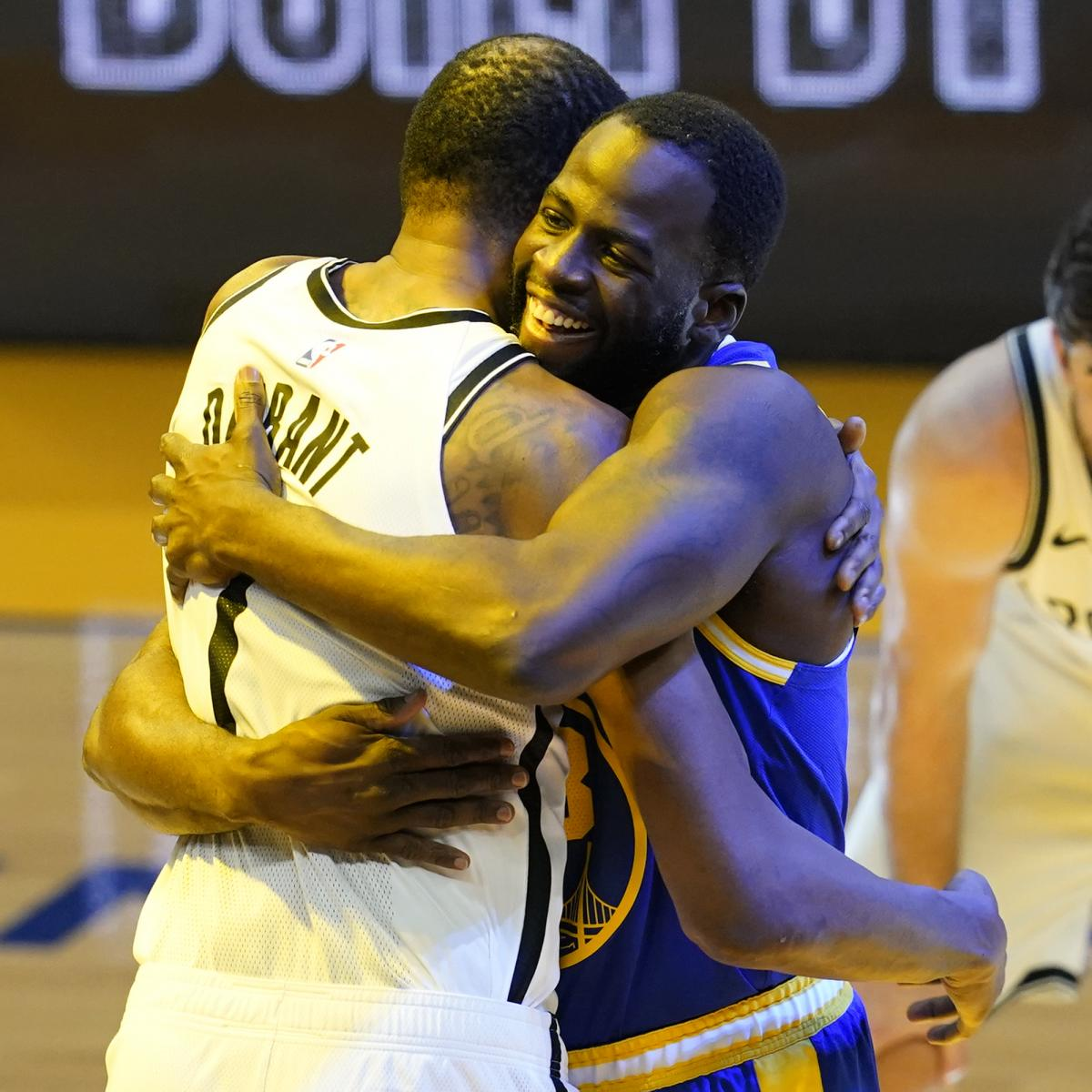 Draymond Green on Kevin Durant: 'Don't Think Anyone in the World Can Stop Him' thumbnail