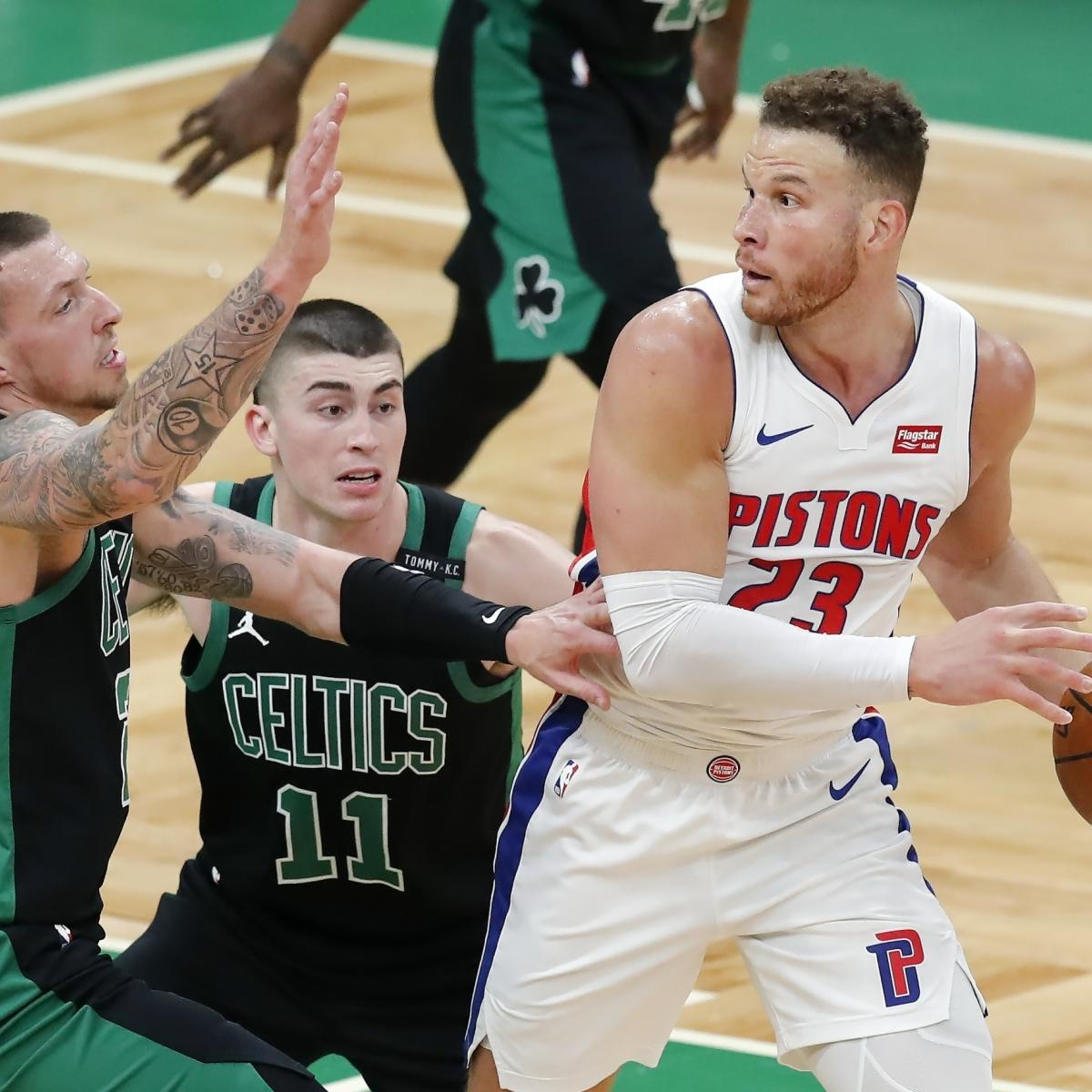 Blake Griffin to Be Held Out by Pistons amid Trade, Contract Buyout Rumors