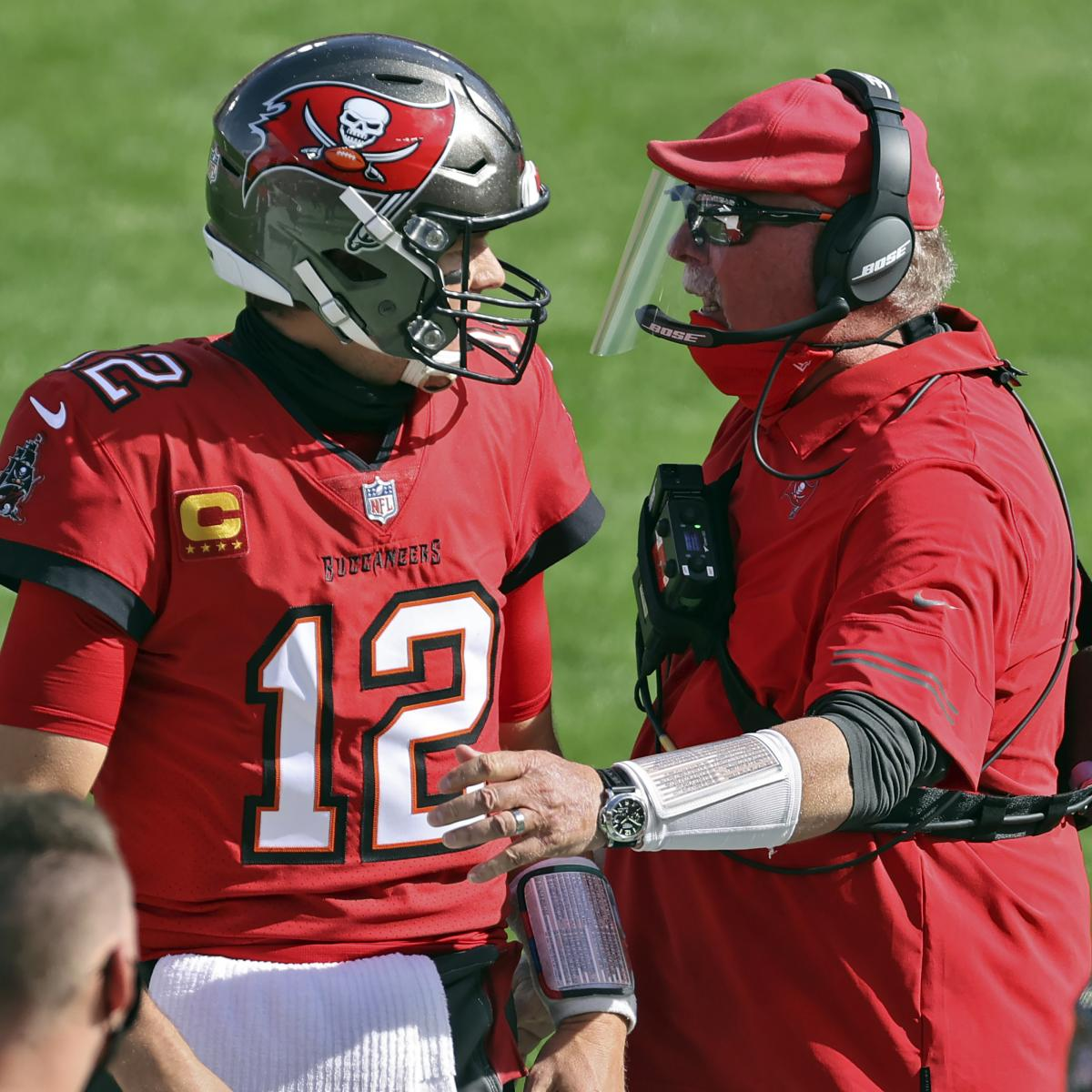<p>Tom Brady'Wanted to Try a Different Way' Than Patriots, Says Bucs' Bruce Arians thumbnail